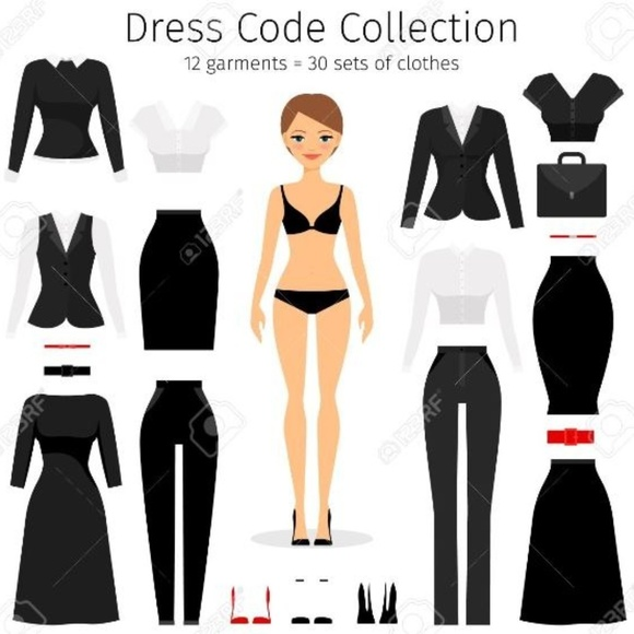 VARIOUS Dresses & Skirts - 12 GARMENTS = 30 OUTFITS!  DO IT ON A BUDGET!